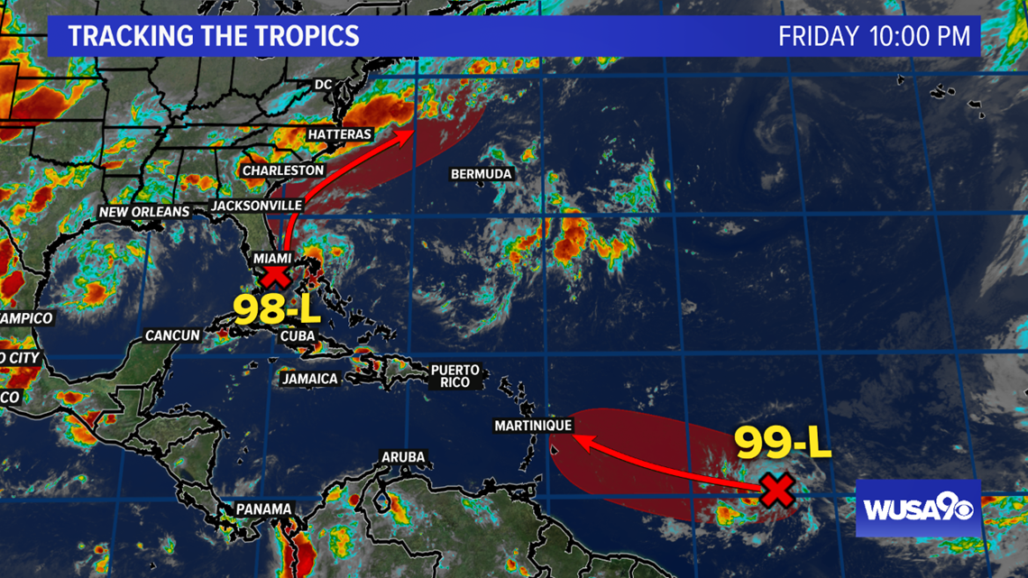 The next tropical depression or tropical storm could form this weekend