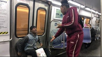Viral subway singing siblings perform in DC to build better lives