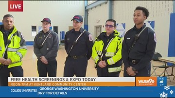 Prince George's County Fire & EMS join the Impact: Health Matters Expo