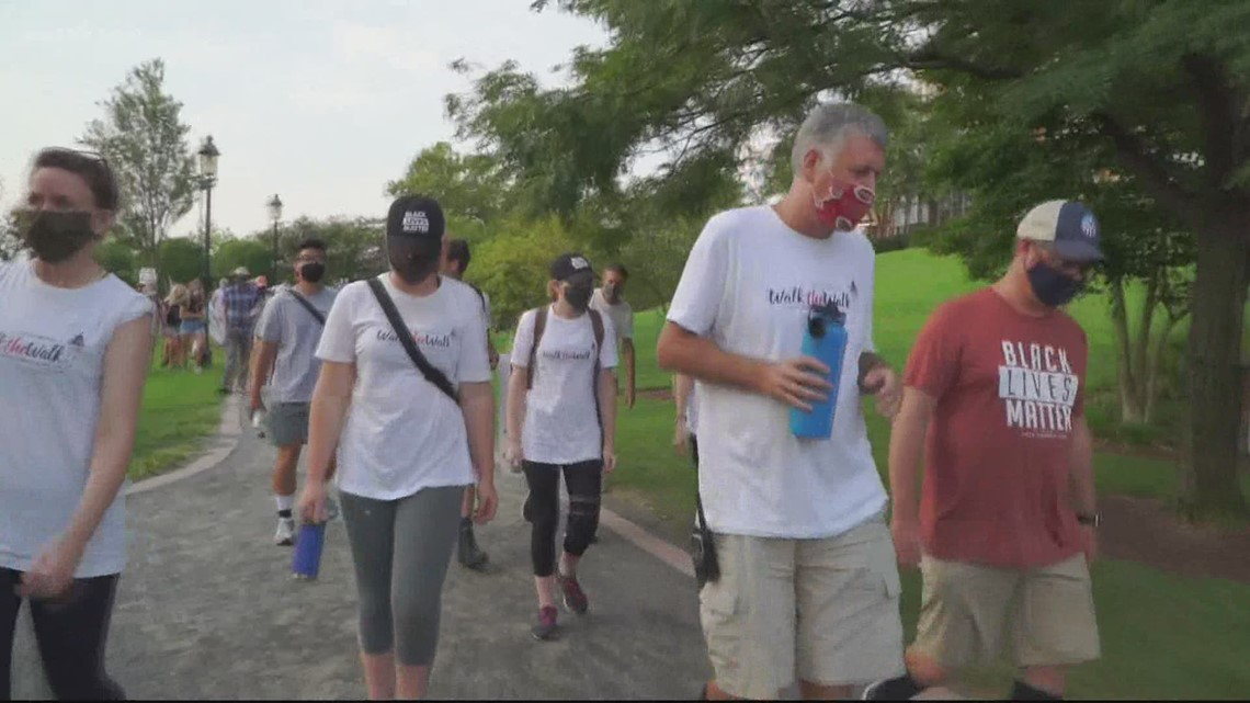 Faith leaders walk more than a hundred miles to join fight for racial justice at March on Washington