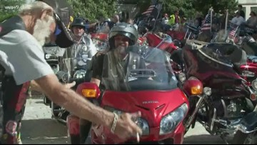 Third annual 'Blessing of the Bikes' held at Washington National Cathedral