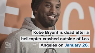 Kobe Bryant dead after helicopter crashes outside of Los Angeles