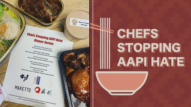 Dozens of DC chefs come together to fight Asian hate with to-go meals