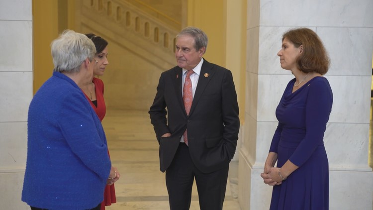 Surviving military spouses thank Rep. John Yarmuth (D-KY) for his support