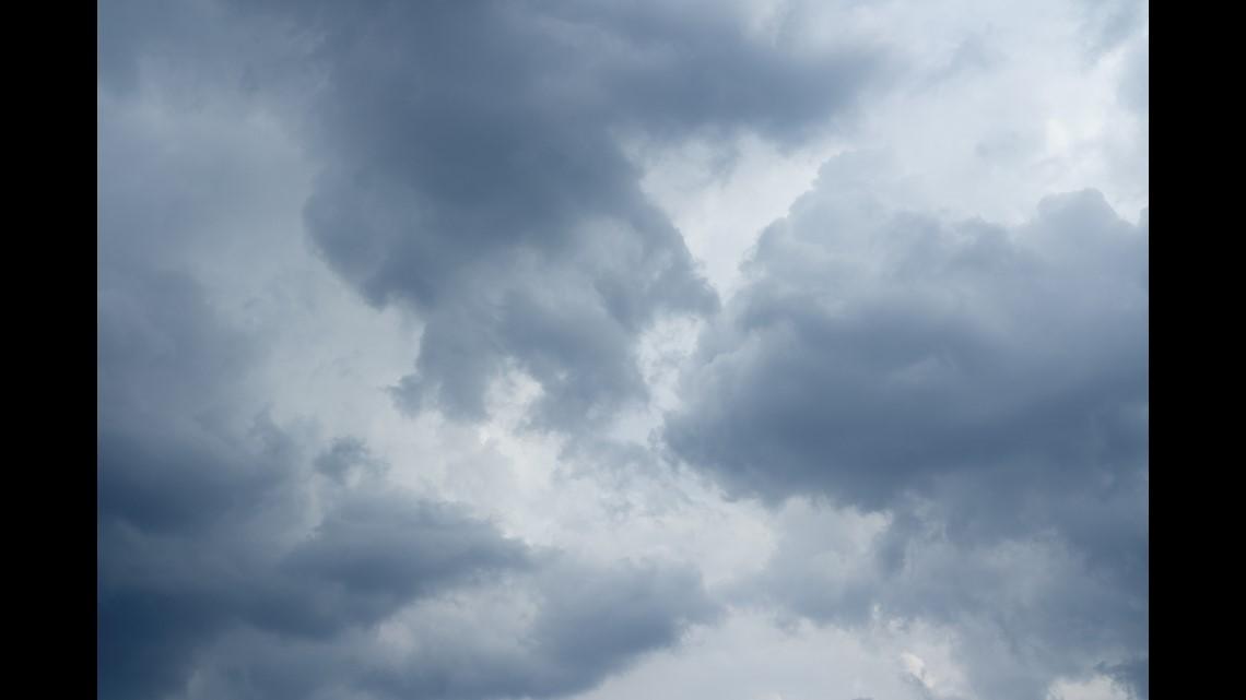 Cloudy weekend start in the DMV