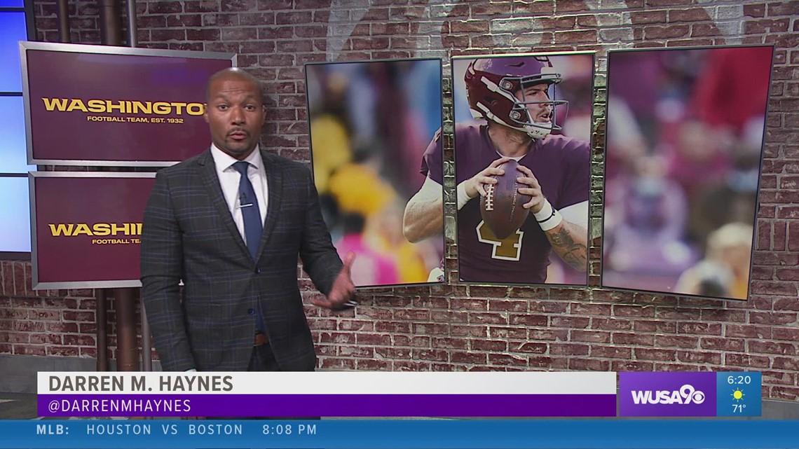 Washington Football quarterback Taylor Heinicke grew up a Green Bay Packers fan