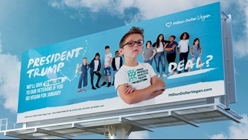 Virginia teen challenges President Trump to go vegan for a month