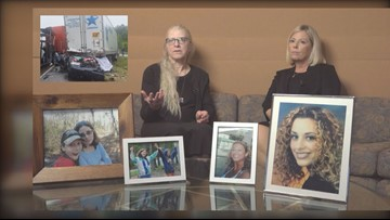 Mothers fight for tougher tractor trailer laws after daughters die in underride crashes