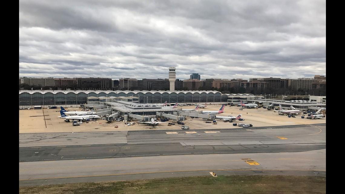 Air Travel Delays To Washington Dc