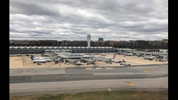 Coast Guard helicopter makes emergency landing at Reagan National Airport
