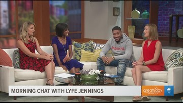 "Recording artist Lyfe Jennings talks about his 7th studio album called ""777"""