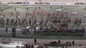 Virginia band wins Bands of America Regional Competition