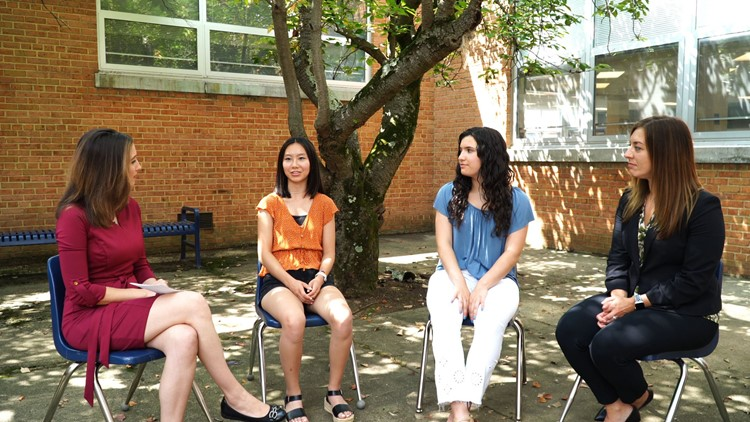 'I want to know that I'm making an impact' | Students help shine a light on social media's impact on mental health, body image