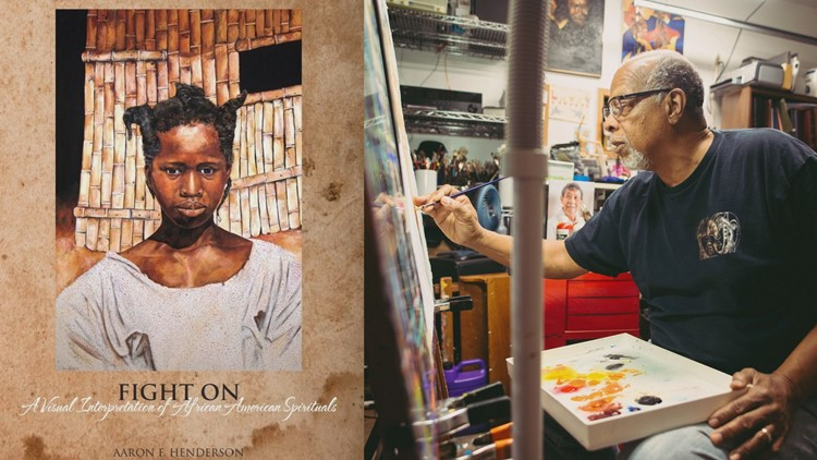 'Fight On' | Artist creates visual interpretations of African-American spirituals