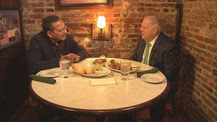 Governor Larry Hogan and Bruce Johnson