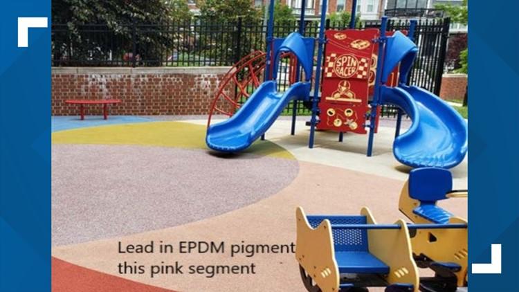 Cardozo HS Lead playground