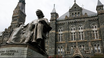 Georgetown faculty say they're 'deeply disturbed' over the university's response to men's basketball allegations