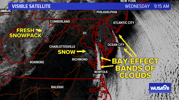 Visible Satellite images