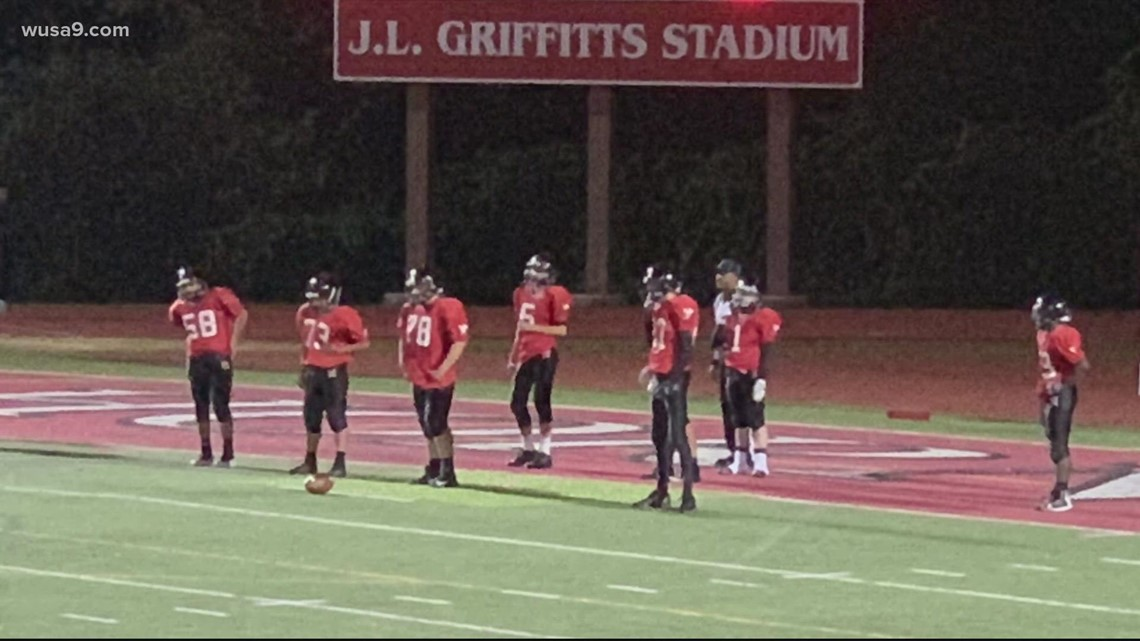 Entire football team at Herndon High School in Fairfax County forced to quarantine