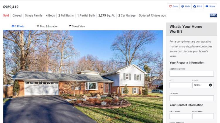 Falls Church home sold for $170K over asking price. Could Amazon HQ2 be the reason?