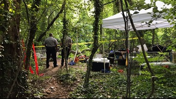Fairfax County police: Possible body found in woods