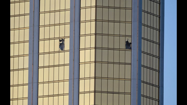 Las Vegas police release body cam footage during Las Vegas massacre