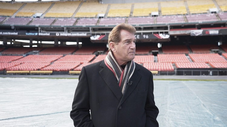 Joe Theismann in RFK Stadium