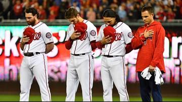 Washington Nationals hold 2019 'National Anthem' auditions