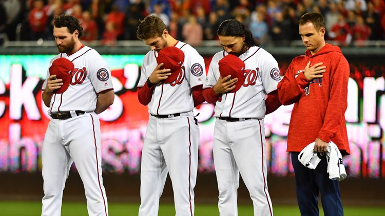 Washington Nationals hold 2019 'National Anthem' auditions