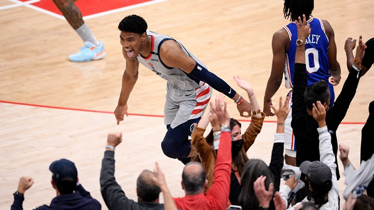 Wizards forward Rui Hachimura will be a flagbearer for Team Japan at Olympics