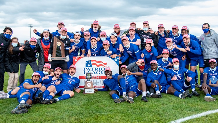 American University men's soccer team heads to NCAA tournament for first time in 17 years
