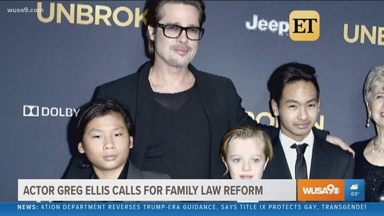 Actor Greg Ellis calls for family reform law, minimizing bias against fathers