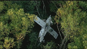 Crews respond to small plane crash in Anne Arundel County