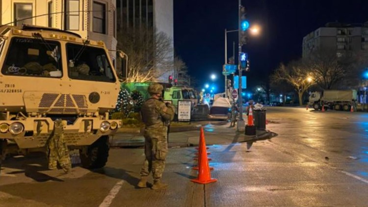 National Guard reveals its members will soon leave downtown DC
