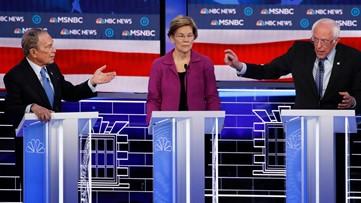 Feeling the Bern? On debate night, Bloomberg says Sanders could burn Democrats