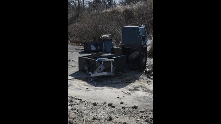 ATM found in Landover