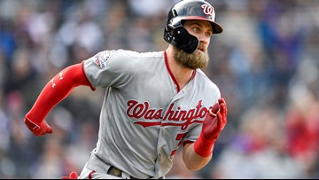 Bryce Harper finalizing deal with the Phillies