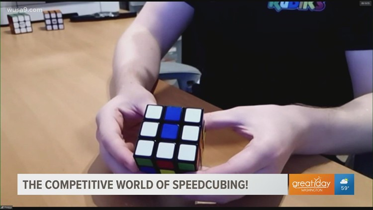 Red Bull and Spin Master presents 80's sensation Rubik's Cube  world championship