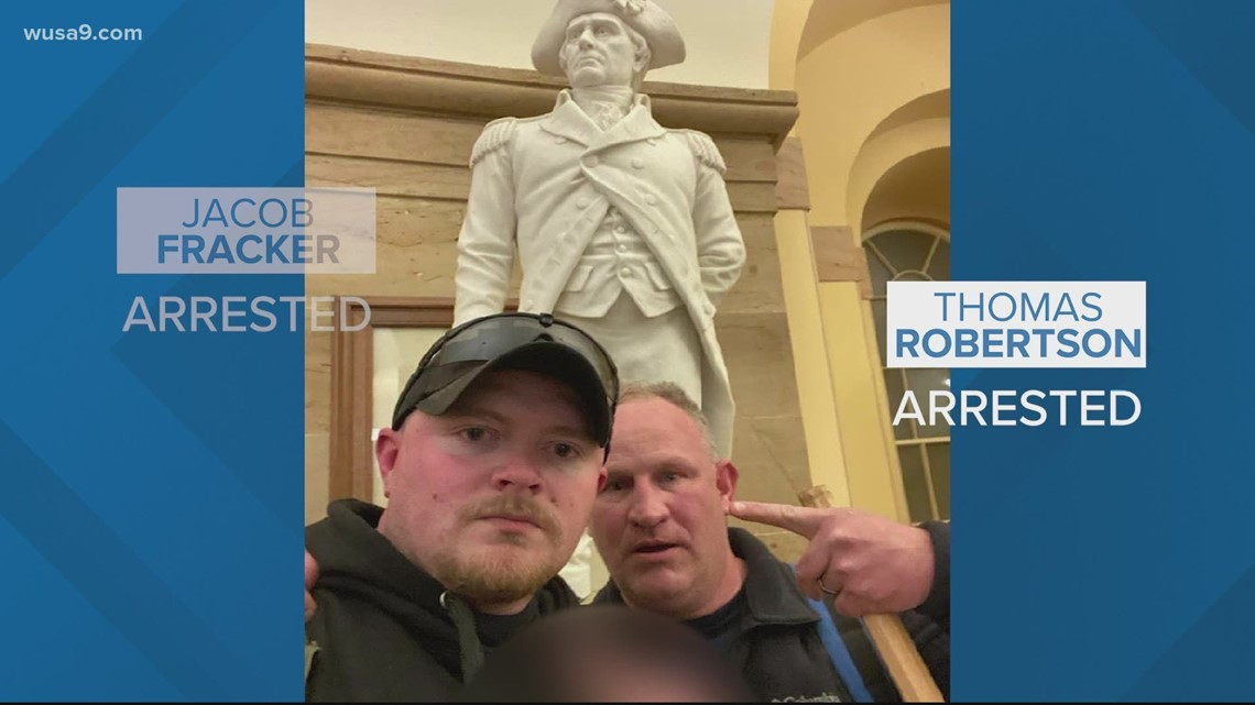 2 off-duty Virginia police officers charged federally in storming US Capitol