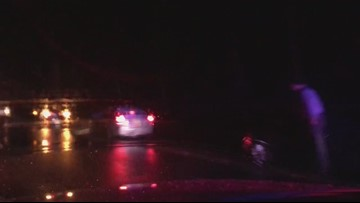 RAW: Potholes on GW Parkway take out 12+ cars