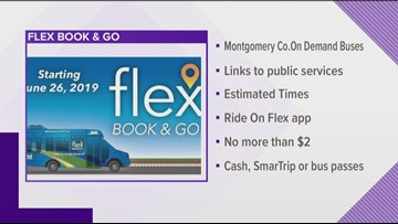 On-demand bus debuts in Montgomery County