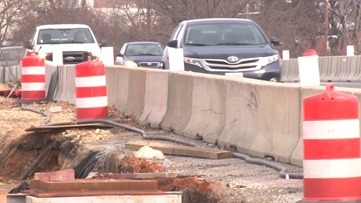 This stretch of I-295 in DC will be under construction until 2022
