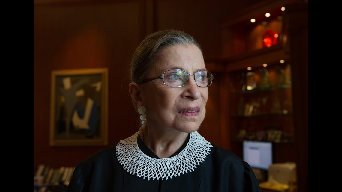 Ruth Bader Ginsburg mourned in D.C., Maryland, Virginia