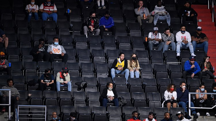 Capital One Arena host fans for first time since pandemic started; Beal thanks fans for being there