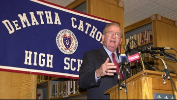DeMatha Catholic basketball coach Morgan Wootten placed in home hospice care, school says