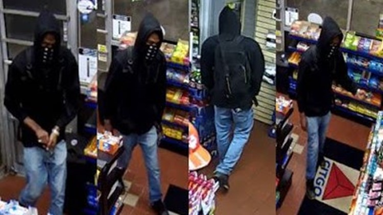 Suspect in May 13 gas station robbery in Lanham, Md.