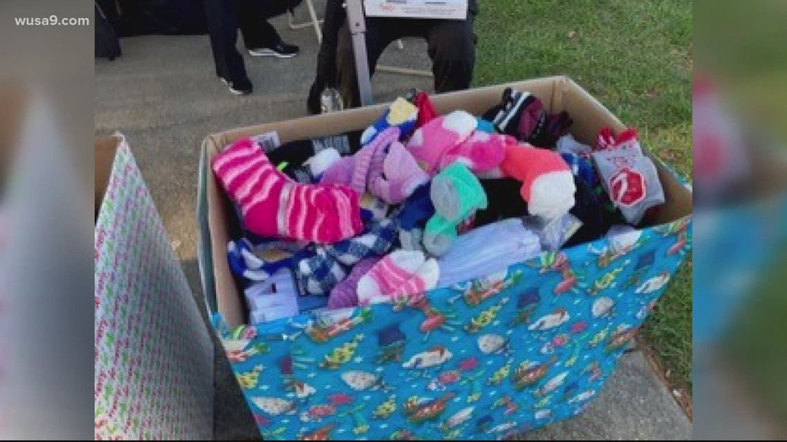 Young girl starts sock drive to help those in need | Get Uplifted