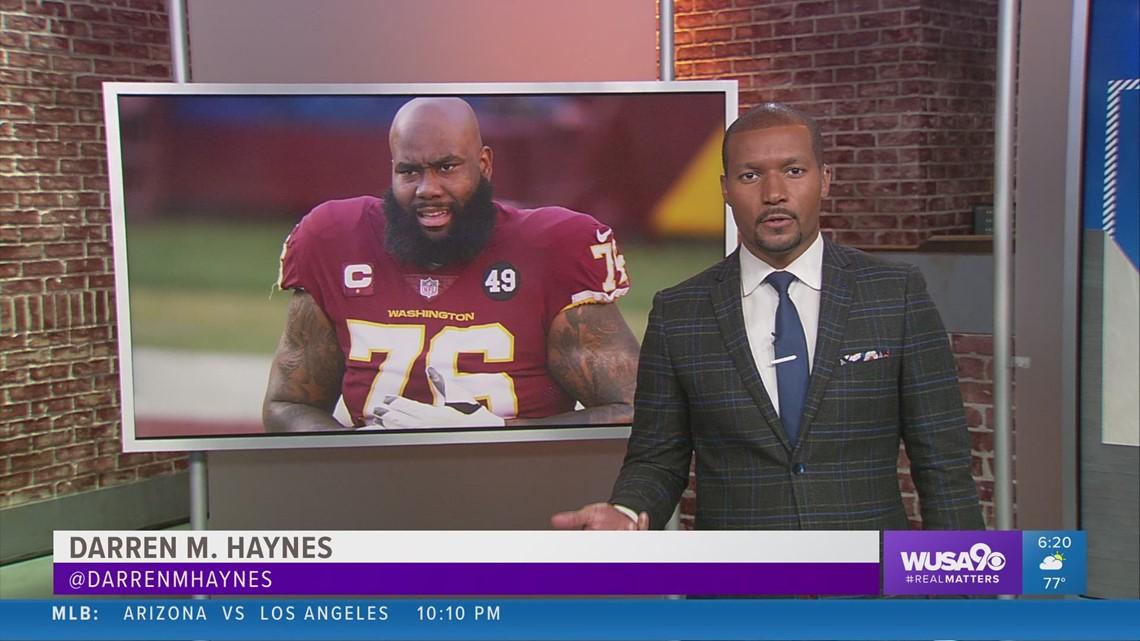 Washington Football Team gives Offensive Tackle Morgan Moses permission to seek a trade