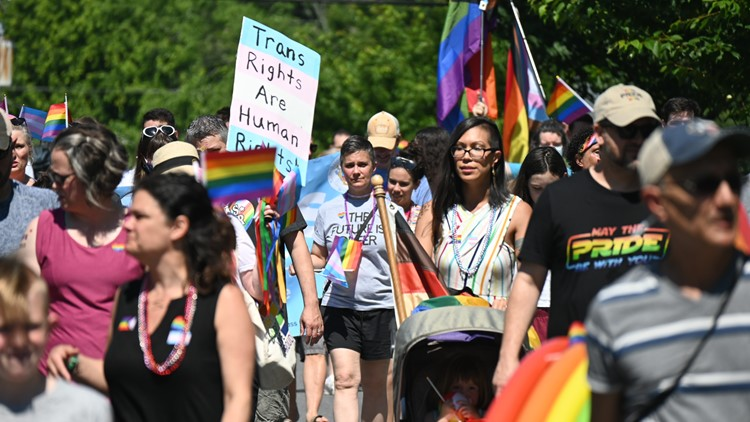 Silver Spring neighborhood hosts its first Pride parade