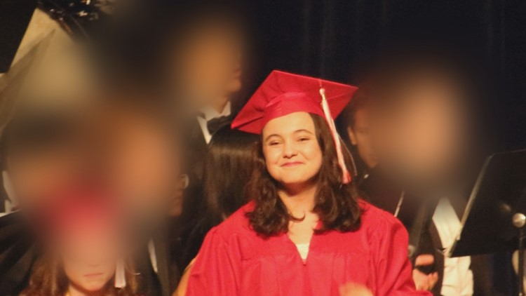 Sandre's graduation